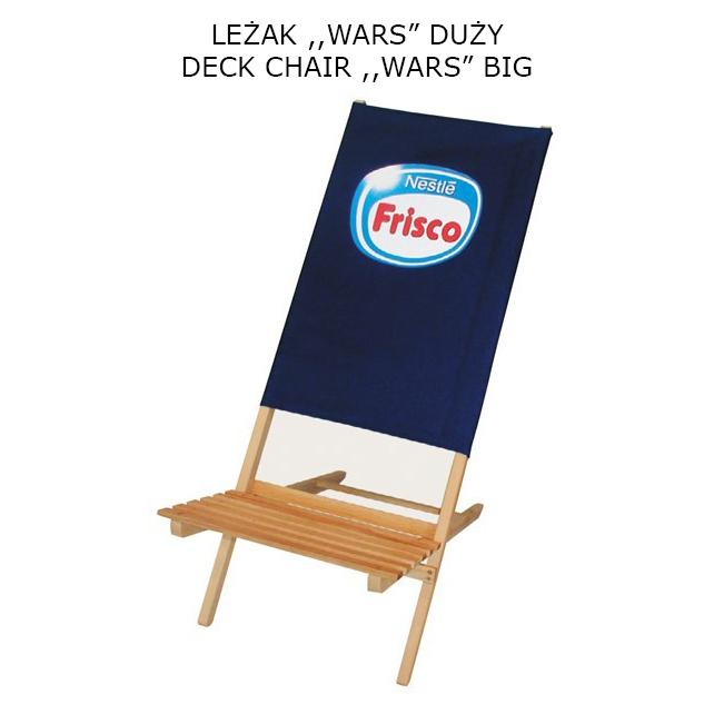 Leżak WARS duży 1 - Advertisment