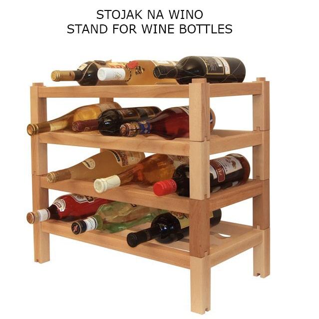 Stojak na wino 1 - Artykuły reklamowe