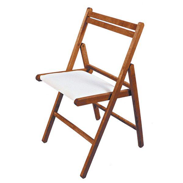 Krzesło składane tapicerowane