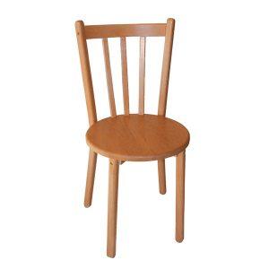 Krzesło z siedziskiem okrągłym