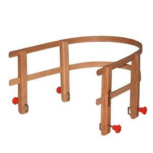 Oparcie do sanek drewniane