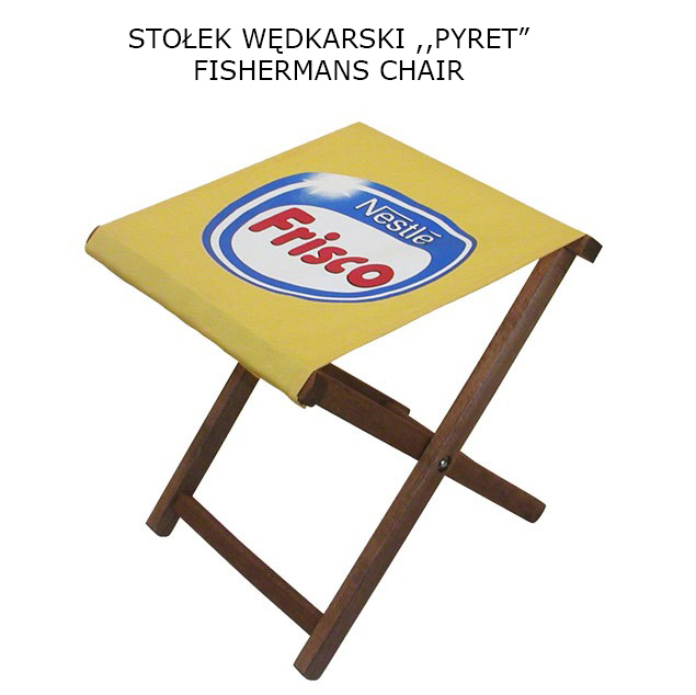 stołek wędkarski PYRET 1 - Artykuły reklamowe