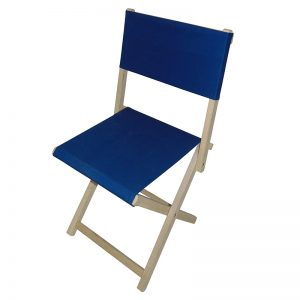 Krzesło składane – z tkaniną